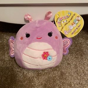 BRAND NEW SQUISHMALLOW BRENDA THE BUTTERFLY
